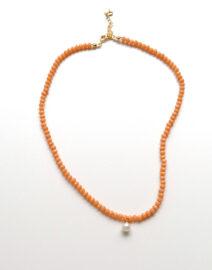 orange-pearl-necklace